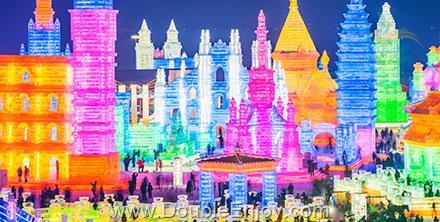 DE991 : ทัวร์ฮาร์บิ้น เทศกาลน้ำแข็ง Harbin International Ice Snow Festival 6 วัน 5 คืน (MF)