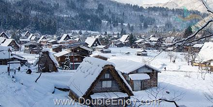 DE453 : โปรแกรมทัวร์ญี่ปุ่น ทาคายาม่า หมู่บ้านชิราคาวาโกะ ศาลโทริอิ 5 วัน 3 คืน (XJ)