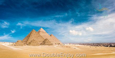 DE994 : โปรแกรมทัวร์อียิปต์ ไคโร มหาพีระมิดแห่งกีซา ล่องเรือแม่น้ำไนล์ 6 วัน 3 คืน (MS)