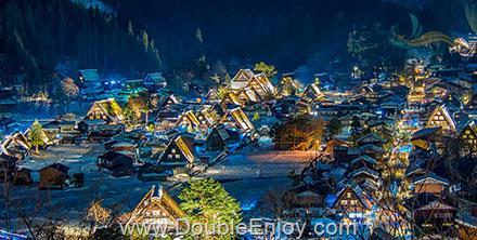 DE916 : โปรแกรมทัวร์ญี่ปุ่น โตเกียว โอซาก้า ทาคายาม่า สกี 6 วัน 3 คืน (XJ)