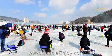 DE663 : โปรแกรมทัวร์เกาหลี สกี ตกปลาน้ำแข็ง เอเวอร์แลนด์ เทศกาลดูไฟ 6 วัน 3 คืน (XJ)