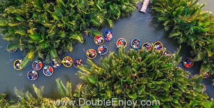 DE955 : ทัวร์เวียดนามกลาง เมืองมรดกโลก ล่องเรือกระด้ง [บาน่าฮิลส์ 1 คืน] 4 วัน 3 คืน (FD)