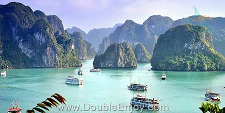 DE969 : ทัวร์เวียดนามเหนือ ชมถ้ำนางฟ้า สัมผัสมรดกโลก ณ อ่าวฮาลอง 3 วัน 2 คืน (TG)
